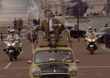 Mr Bean 25 years police escort