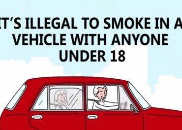 Smoking in Cars With Children Illegal