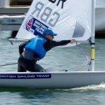 Team GB Sailors Nick Thompson Laser