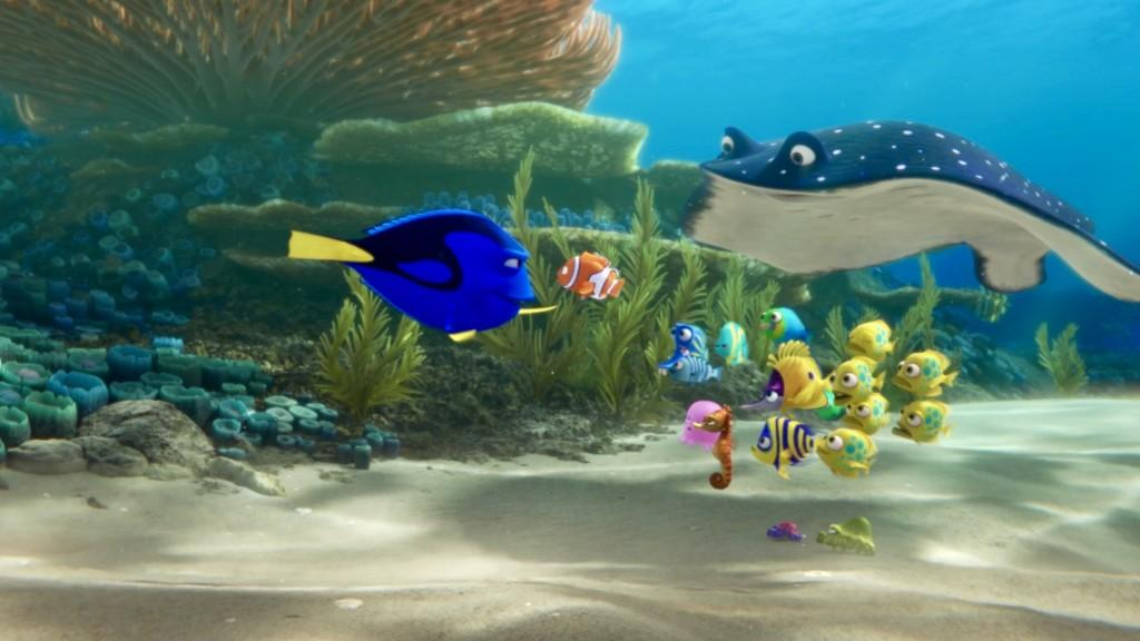 Finding Dory sequel to finding nemo