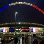 Wembley Stadium France v England