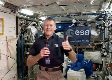 Tim Peake talks space