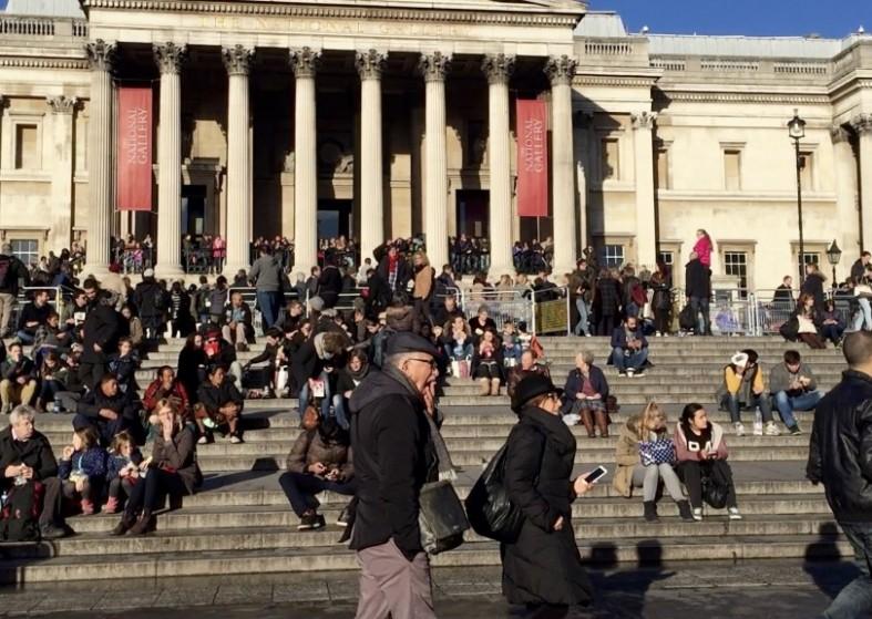 Trafalgar Square NYE