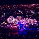12,000 fireworks were stunning