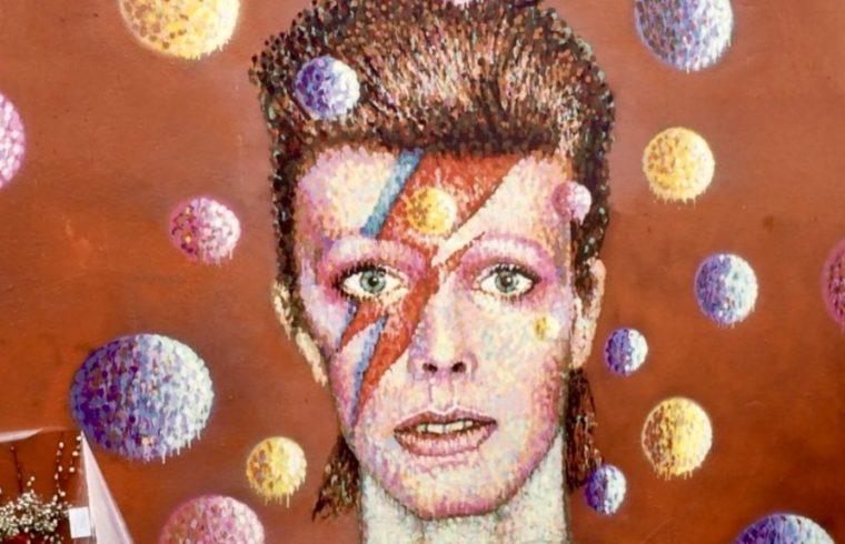 David Bowie Brixton Wall