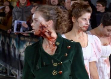 Pride and Prejudice and Zombie premiere
