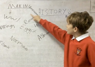 children's history films Making History