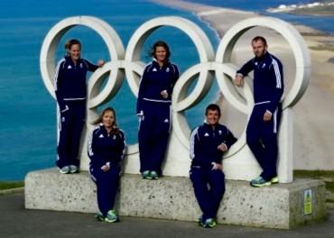 Team GB Sailors for Rio 2016
