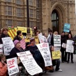 campaigning against welfare cuts