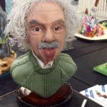 a baked Albert Eistein
