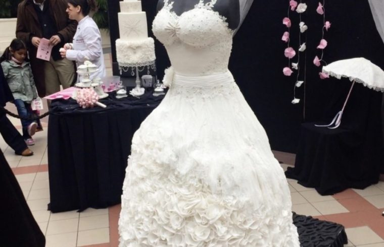 the Cake Show weddible dress