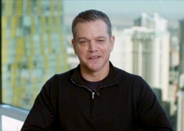 Matt Damon Talks Jason Bourne