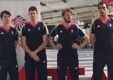 Team GB Fencing Rio Olympics