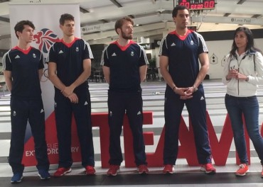 Team GB Fencing Squad for Rio 2016