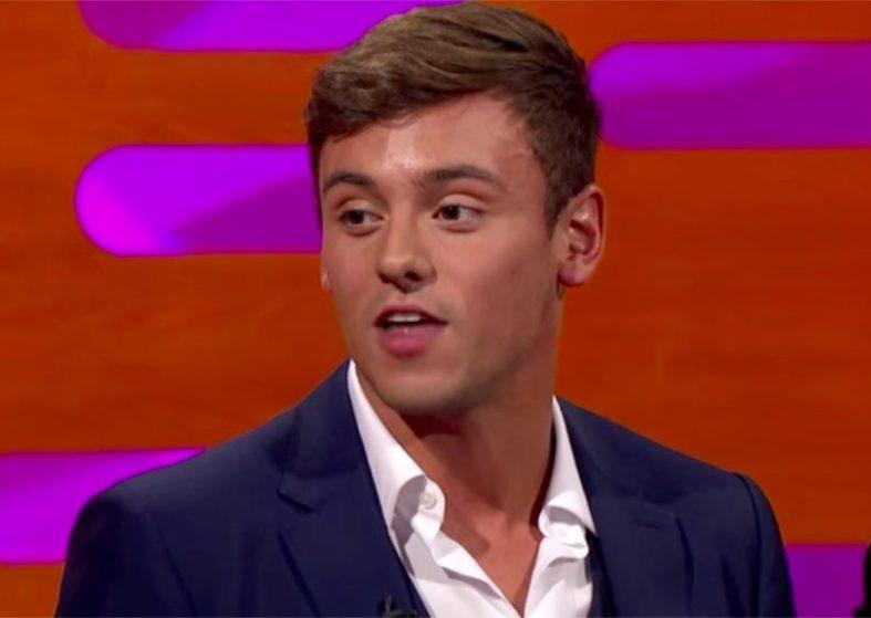 Tom Daley guest Graham Norton Show