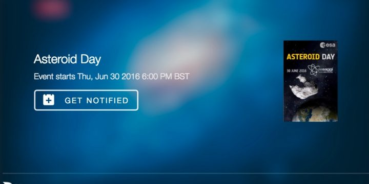 Asteroid Day LIVE STREAM 1800 BST