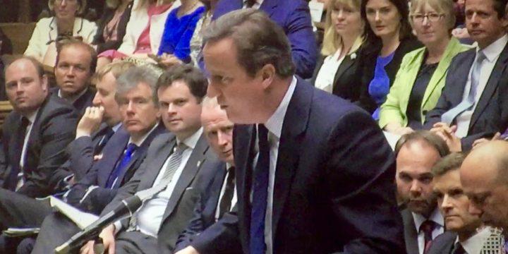 Cameron tells Corbyn to Go