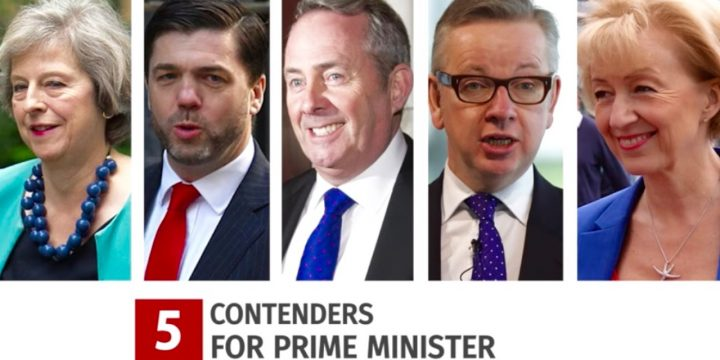Five Contenders for Prime Minister
