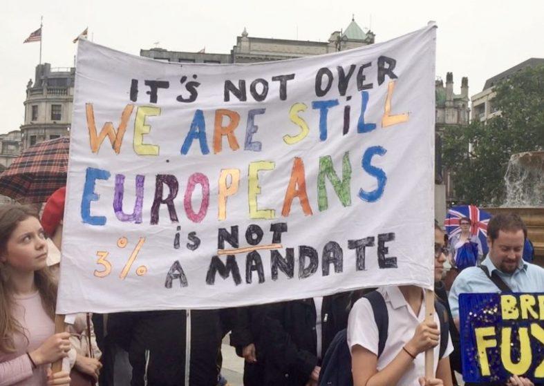 Pro EU rally London