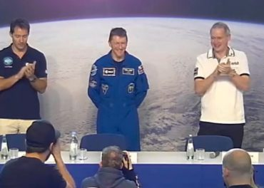 Tim Peake first appearance