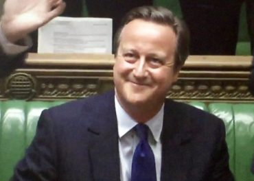 Cameron Cracks Jokes in Commons