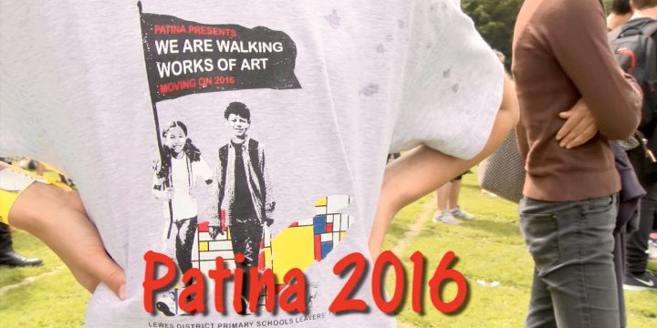 Patina 2016 Walking Works of Art