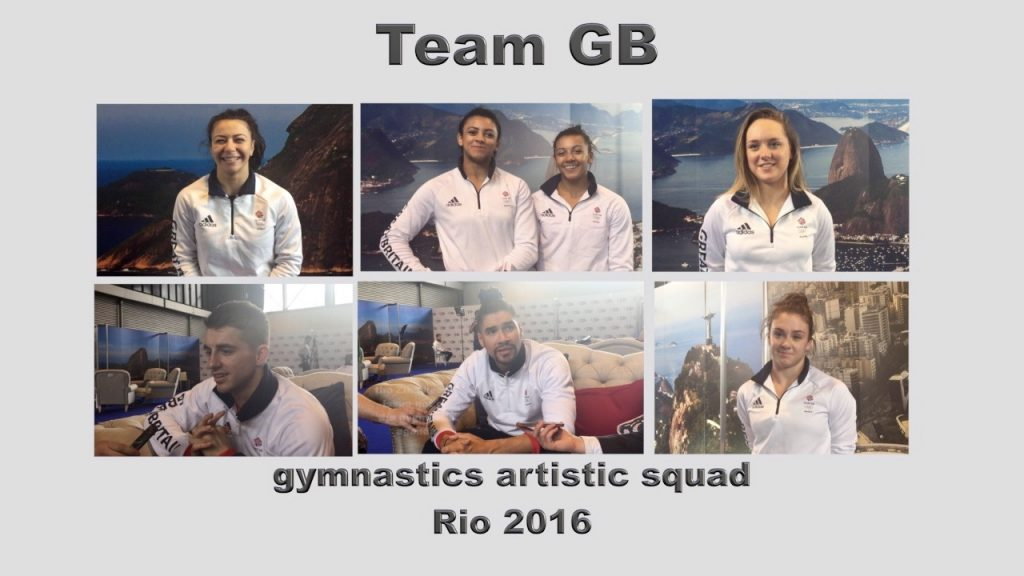 Team GB Gymnastics Artistic Squad