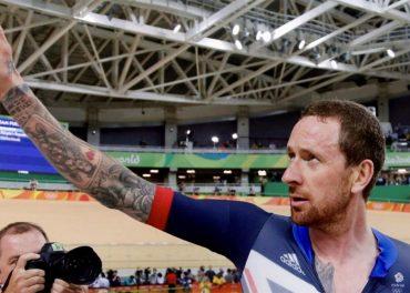 Bradley Wiggins Team GB Take Gold