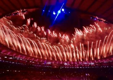 Spectacular closing ceremony welcomes Tokyo