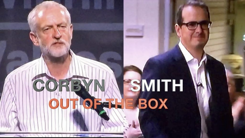 Corbyn and Smith Out of the Box