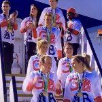 Gold Hockey Team