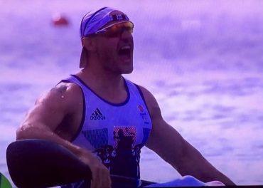 Kayaker Liam Heath Wins Gold