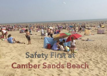 Safety First at Camber Sands Beach