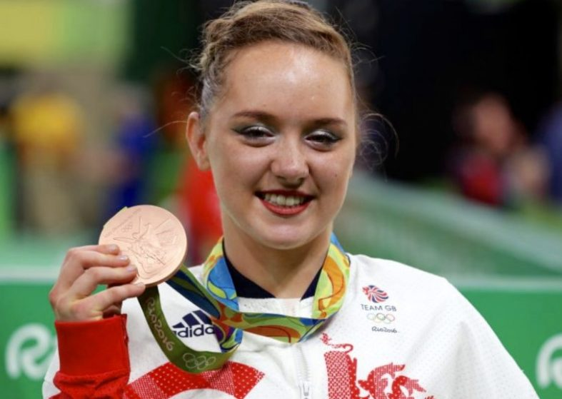 Amy Tinkler wins historic Olympic bronze