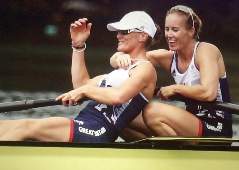 Olympic Gold for women rowers