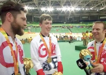 Cundy Leads GB Team Sprinters to Gold