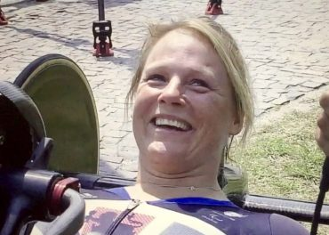 Karen Darke In Shock With Gold Medal Win