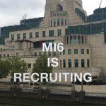 MI6 is recruiting