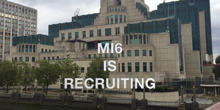 MI6 is recruiting