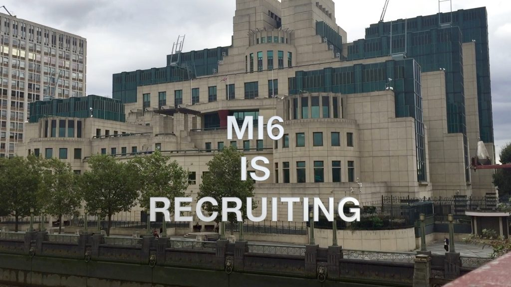 MI6 is Recruiting - terrorism has gone digital | YNUKtvYNUKtv