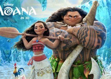 Moana trailer adventure, comedy
