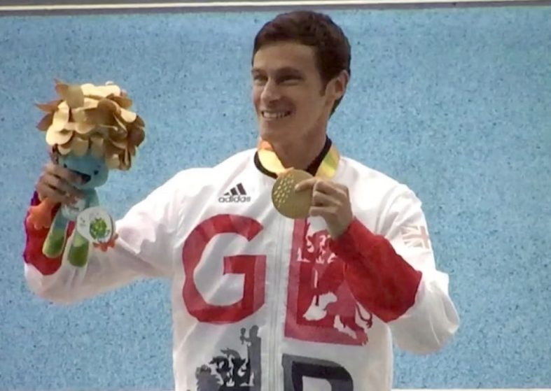 Paul Blake Wins Britains 50th Gold