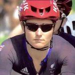 Sarah Storey at the start