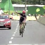 cruising to the finish