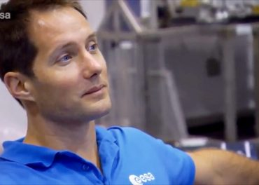 ESA Astronauts Train for ISS Mission