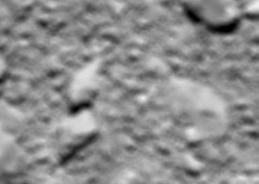Rosetta Grand Finale its last image