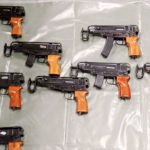 seized 714 guns in past year