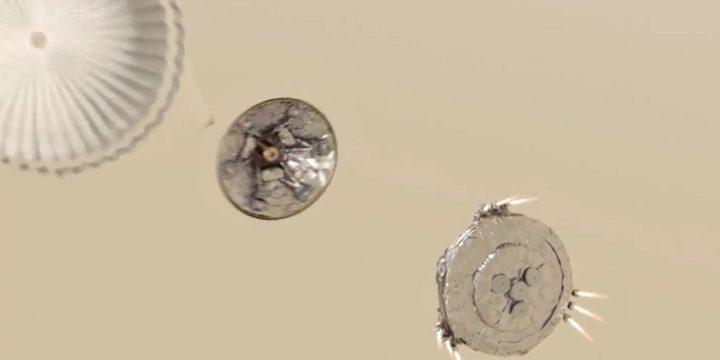 ExoMars Probe Parachute Opened Early