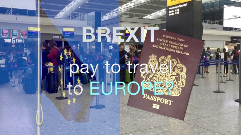 Brexit pay to travel to Europe