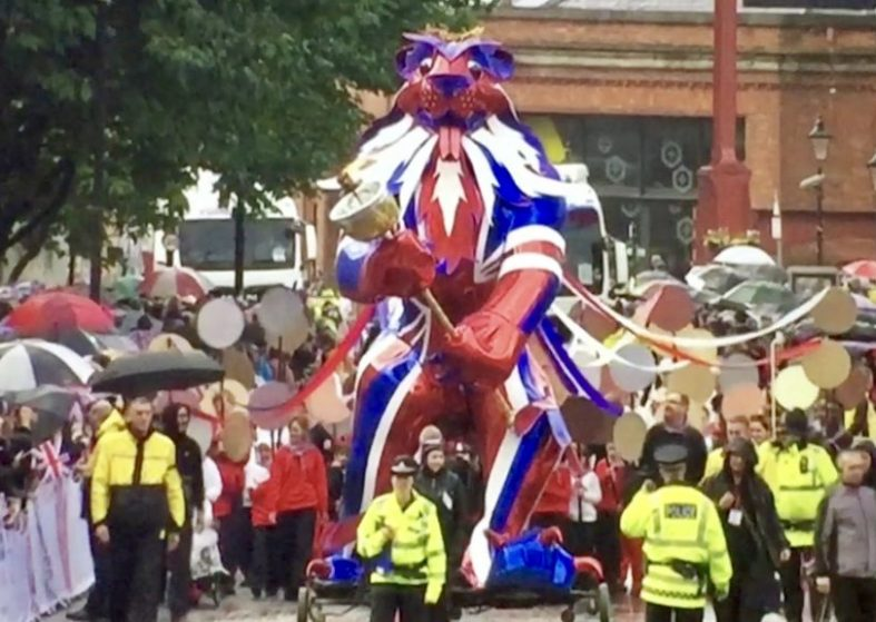 Heroes Parade Manchester
